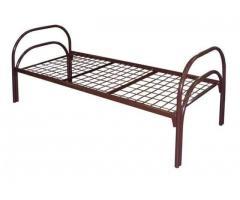 Недорогие кровати металлические, Кровати для времянок, бытовок, строительных вагончиков